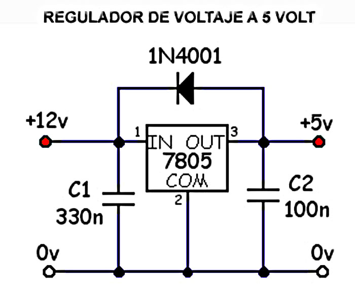 8 Channel Relay Board together with Incubators also 5727 in addition Index in addition Electronica. on 12v to 5v circuit diagram